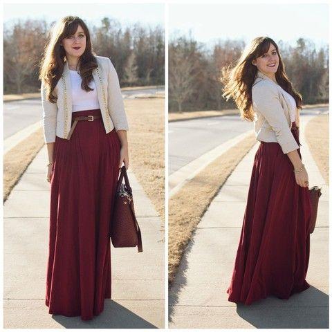 Maxi dresses for winter