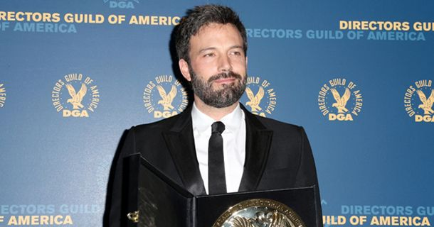 "The Director's Guild of America honored achievement in film and television direction in a ceremony Saturday evening. Ben Affleck became the third person in Guild history to win the DGA but not receive an Oscar nomination for his direction of ""Argo."" Other winners included Lena Dunham for the HBO comedy ""Girls"" and Rian Johnson for the AMC drama ""Breaking Bad."" DGA Lifetime Achievement and Service Awards were presented to Milos Forman, Eric Shapiro, Michael Apted, Susan Zwerman, and Dency…"