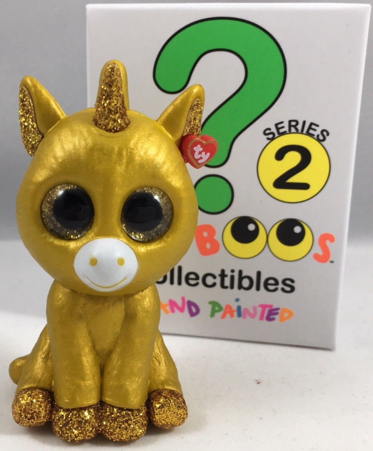 Other Ty Beanbag Plush 1037  Ty Warner Mini Boos Series 2 Chaser ( Gold  Unicorn Chaser ) New -  BUY IT NOW ONLY   40 on  eBay  other  beanbag   plush  warner ... 3cc39939cfc3