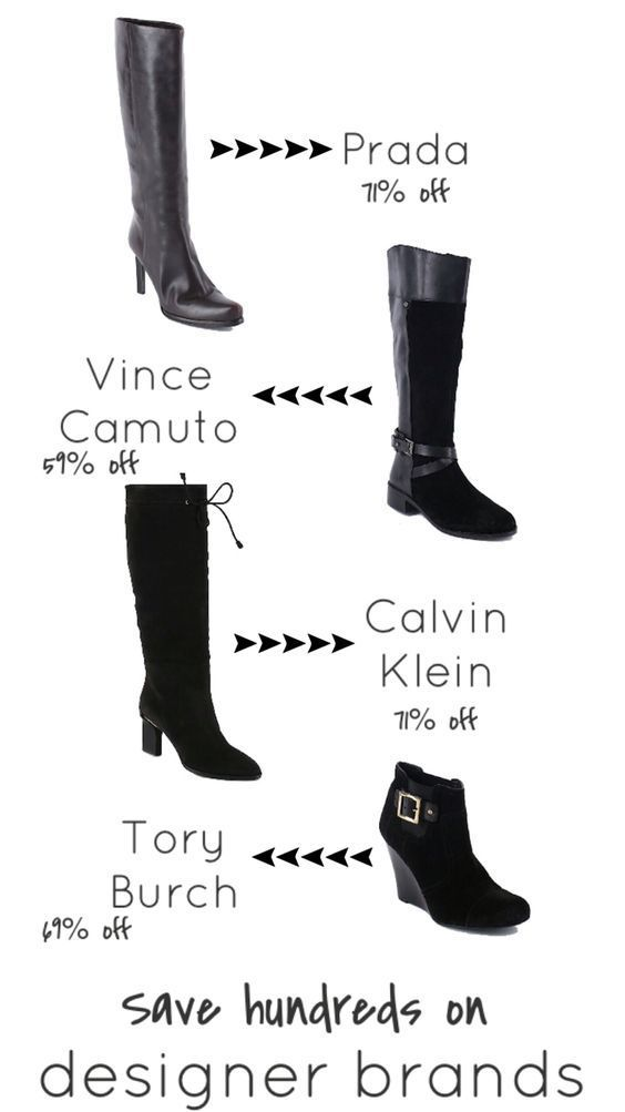 How to Get designer Boots for Half the