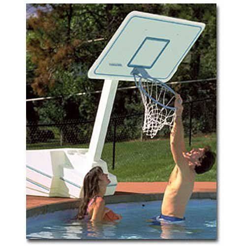 Dunnrite Splash And Slam Swimming Pool Basketball Hoop Style No Volleyball Combo Conversion Kit Click On The Image For Additional Details