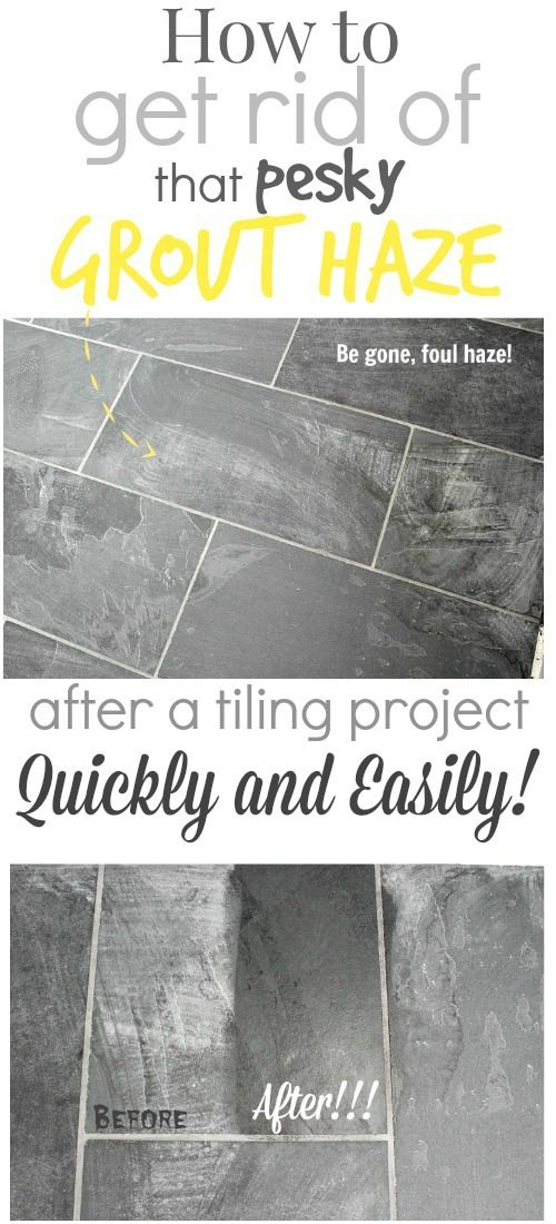 How To Remove That Darn Grout Haze Can Take So Long Clean