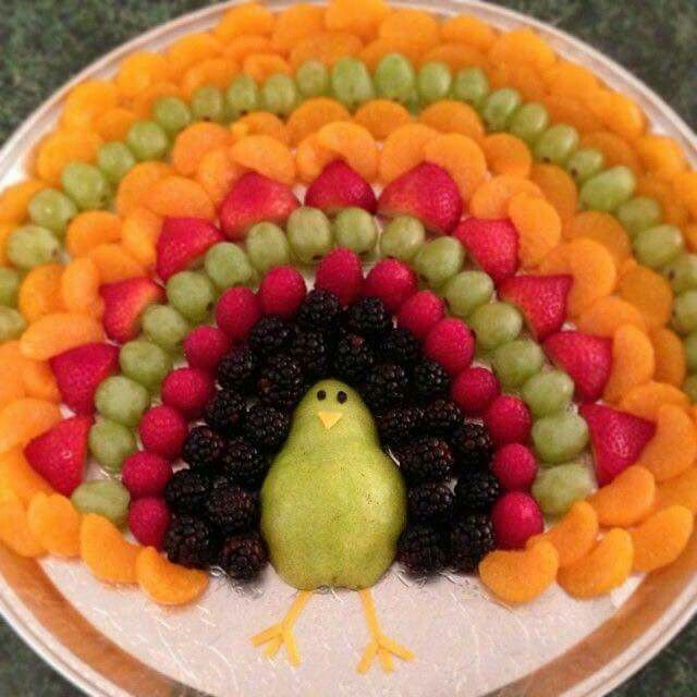 Thanksgiving Turkey-Shaped Cheese Platter Appetizer Recipe #festmad