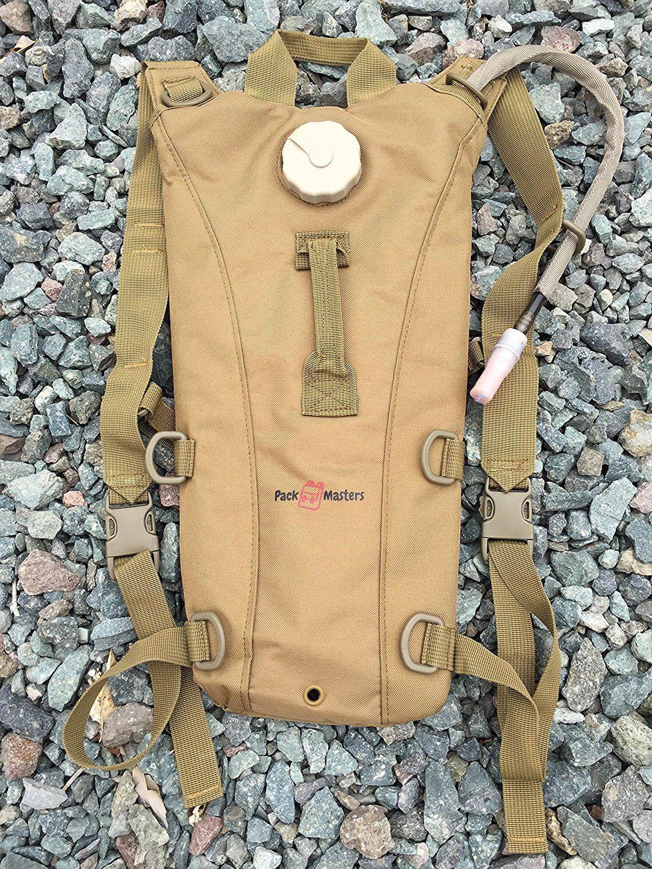 Backpacks, hydration packs, hiking packs