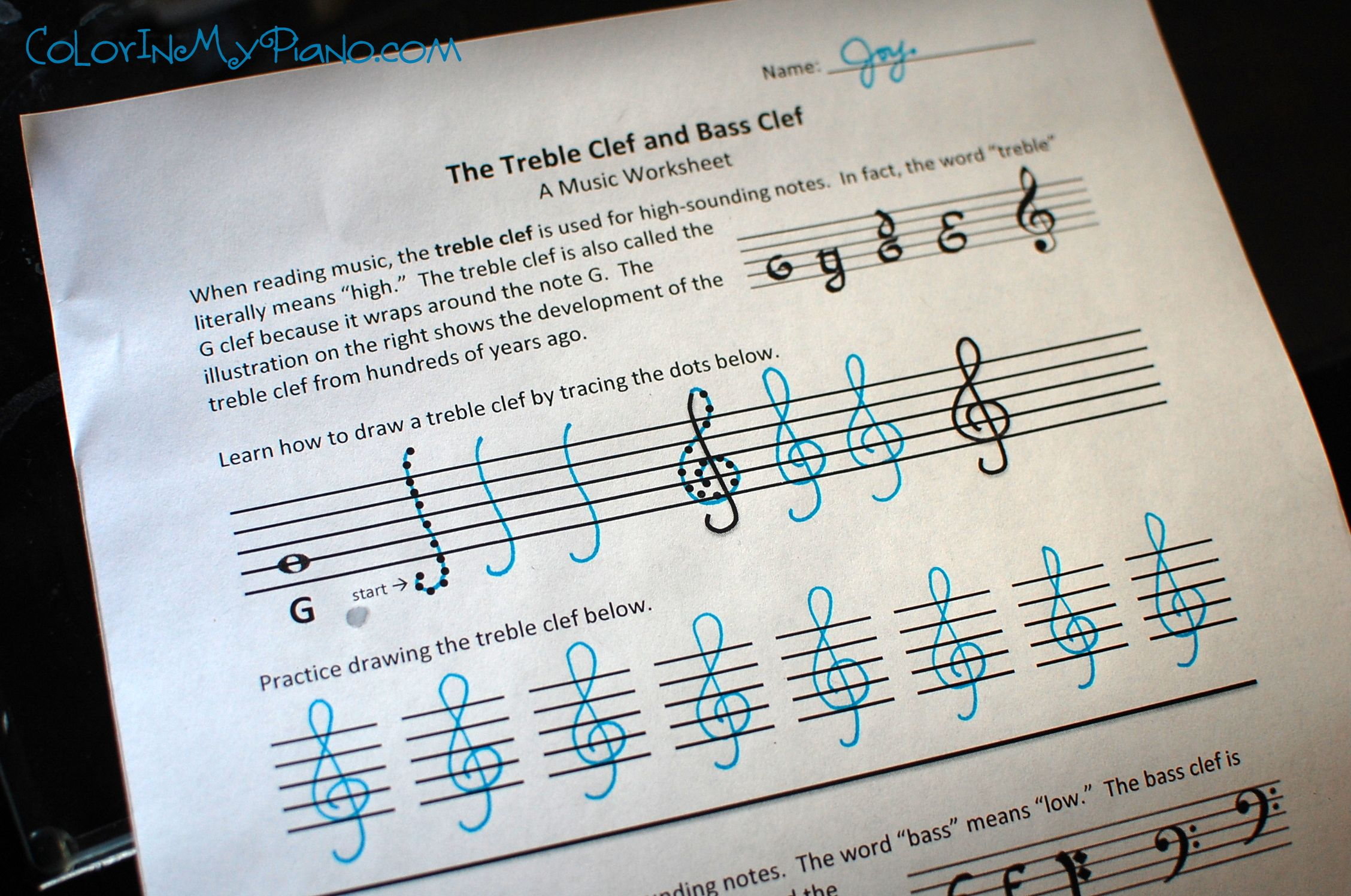 Piano Theory Worksheets Sheet Music Lesson Plans And