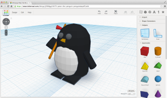 Tinkercad Is Free Web Based 3d Modeling Software That Allows You To Easily Create Your Own Models And Export Stl File 3d Printing Projects 3d Printing Prints