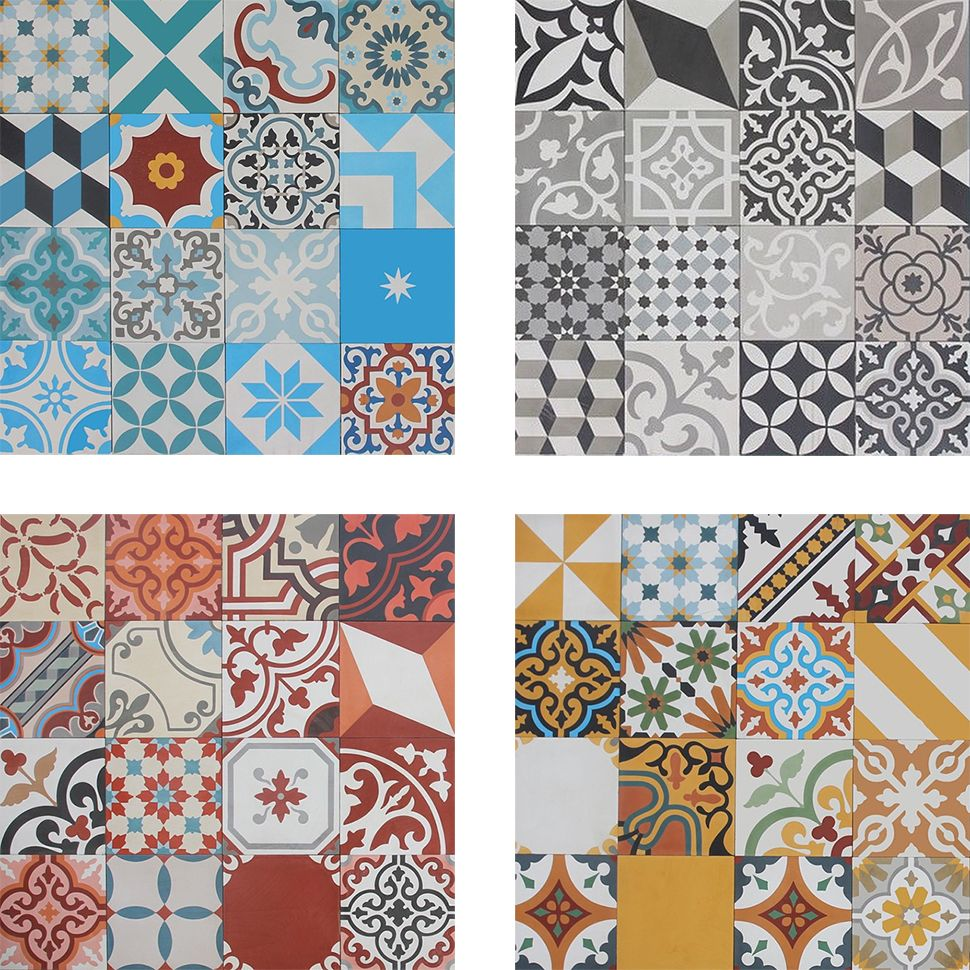 Patchwork Tiles Are Taking The Home Decor World By Storm And Backsplash Is First