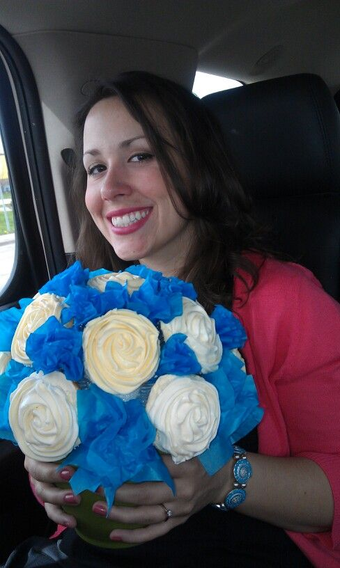 Our cupcake bouquet