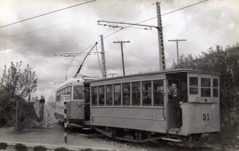 Remolque de dos ejes Nº 31. Fotografía de Christian Schnabel. Archivo EuskoTren/Museo Vasco del Ferrocarril
