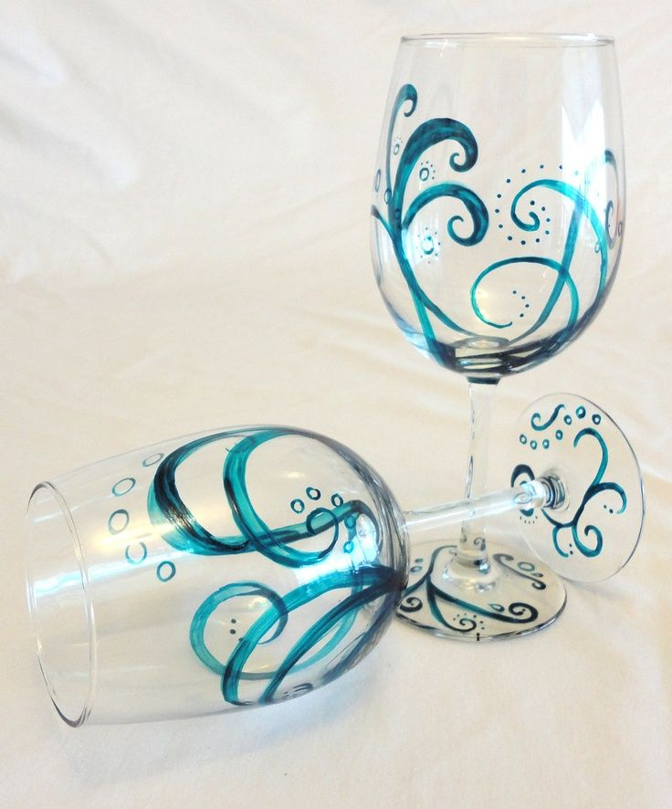 Creative ideas of wine glass painting (7) (mit Bildern