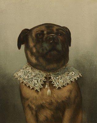 Beautiful Image Produced By L Prang Co Between 1861 1897 Cat Portraits Dog Art Custom Dog Portraits