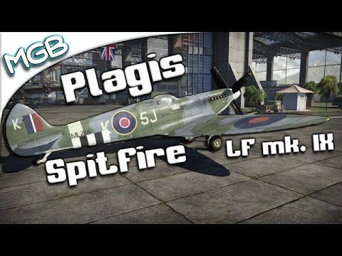 War Thunder   Plagis' Spitfire mk. IX PREMIUM Review - http://freetoplaymmorpgs.com/war-thunder/war-thunder-plagis-spitfire-mk-ix-premium-review