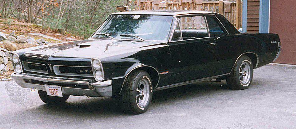 65 Gto Black Gto Pontiac Gto 1965 Gto