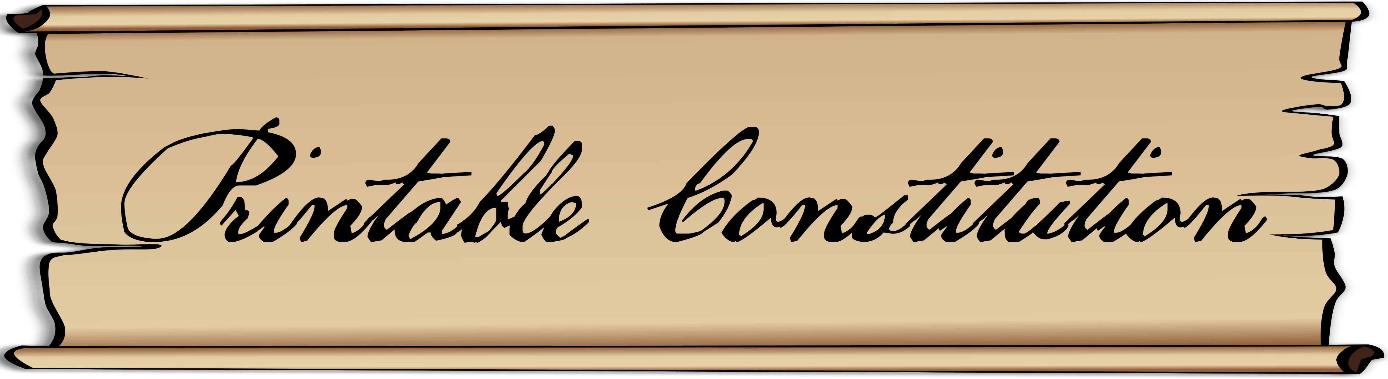 Free Printable U S Constitution And Founding Documents