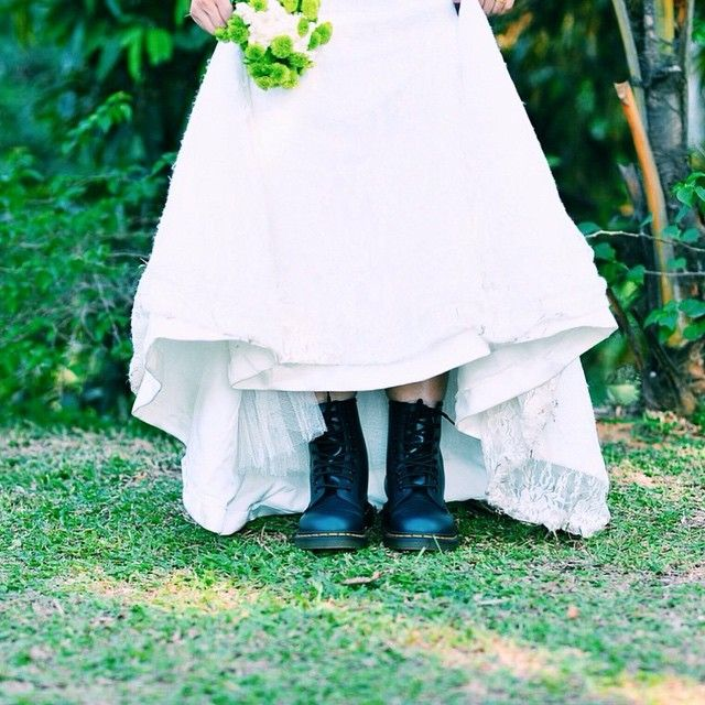 Instagram Photo By Drmartens My Dr Martens Airwair Malaysia Via Iconosquare Doctor Dress Blue Doc Martens Casual Wedding