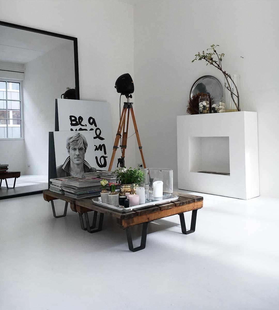 Salon-spiegel-designs spiegel hell white living simple minimalistisch loft  home
