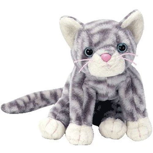 67807f8f704 TY Beanie Baby - SILVER the Cat (5.5 inch)