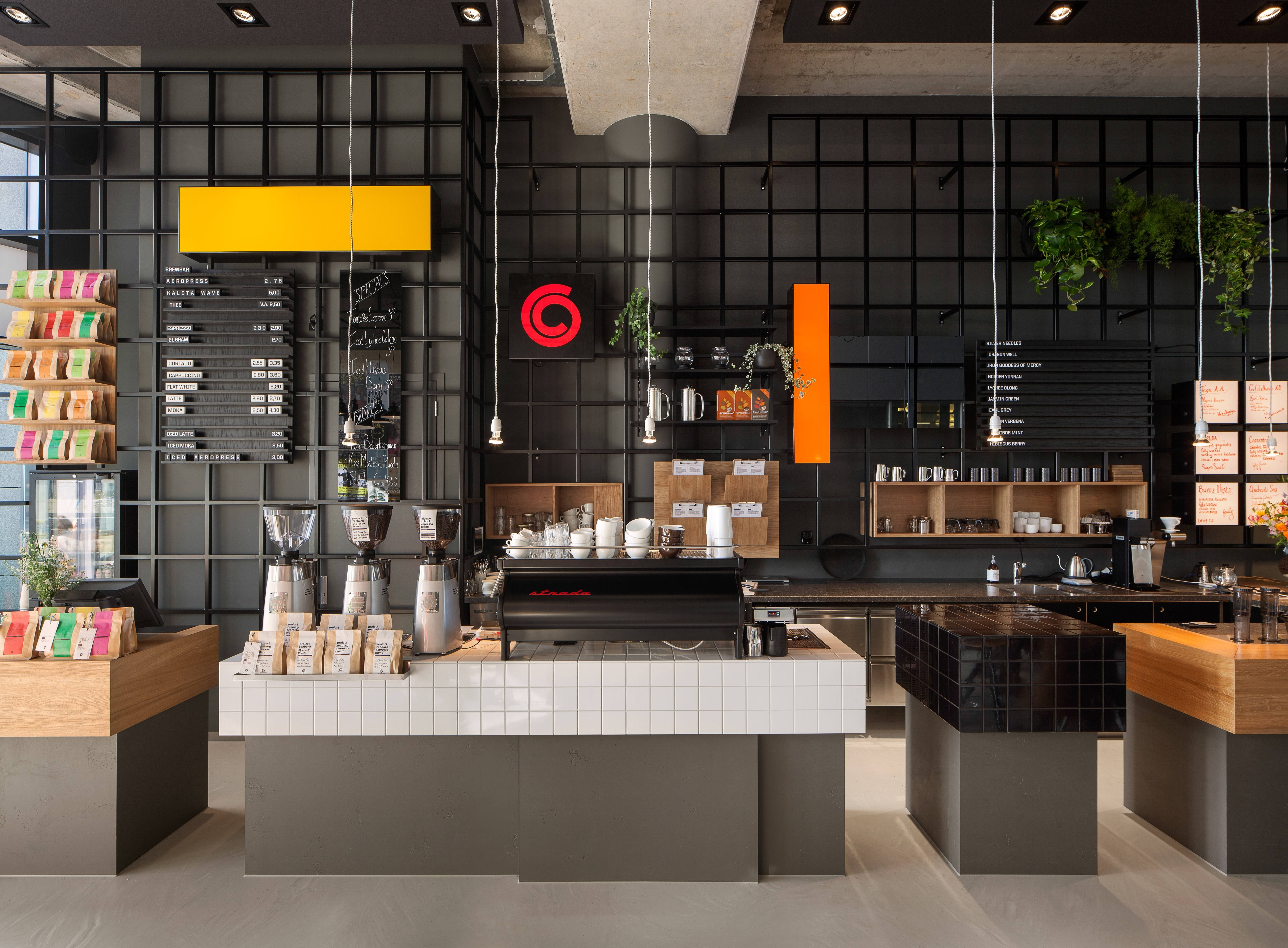 You 39 ve got to see this new coffee bar in amsterdam Interior design shops amsterdam