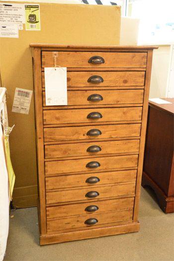 Art Supplies Storage · Pottery Barn   Shallow Drawers