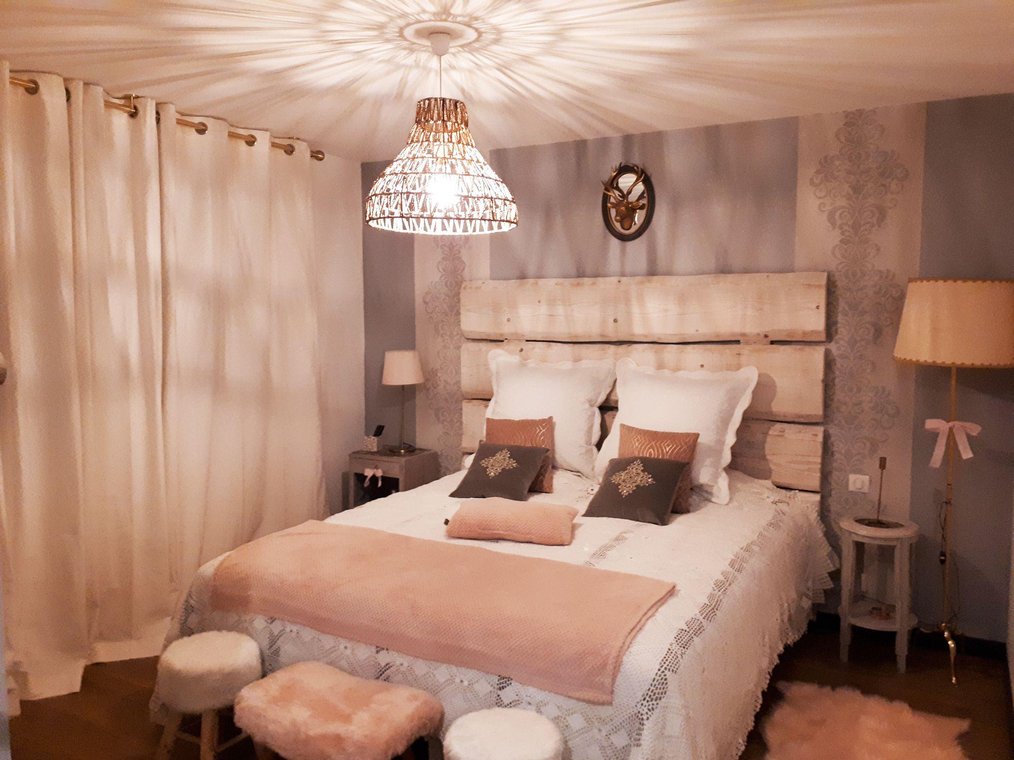 Idée déco chambre parentale romantique en 15  Déco chambre