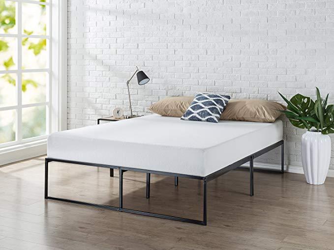 Amazon Com Zinus Lorelei 14 Inch Platforma Bed Frame Mattress