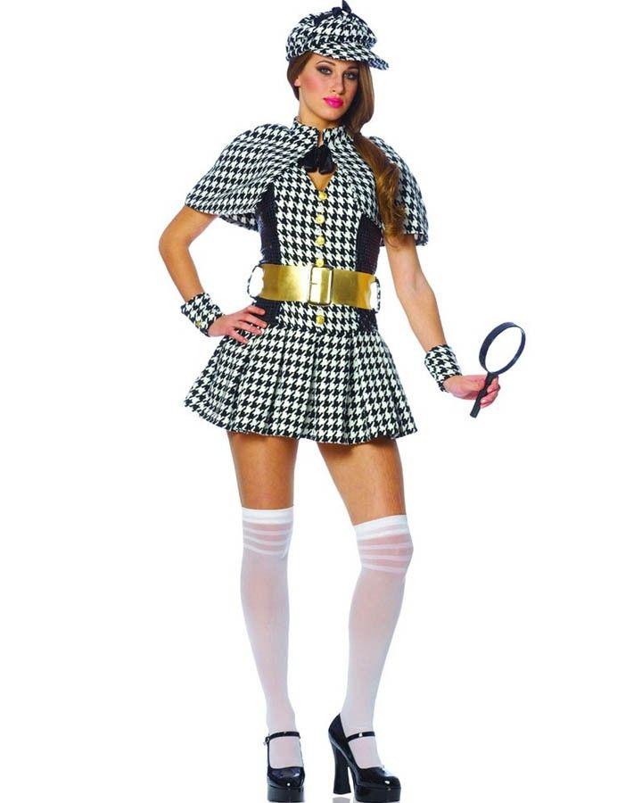 womens sexy sherlock holmes costume costumes pinterest. Black Bedroom Furniture Sets. Home Design Ideas