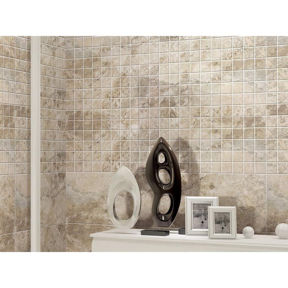 Polish Bathroom Tile: Tarsus Gray Polished Porcelain Tile