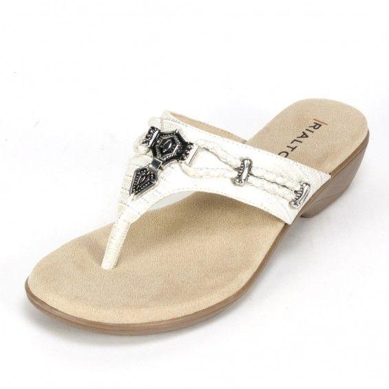 d3afd1e77c45 Rialto Shoes Kismet Cream Vancouver Sandal Rialto