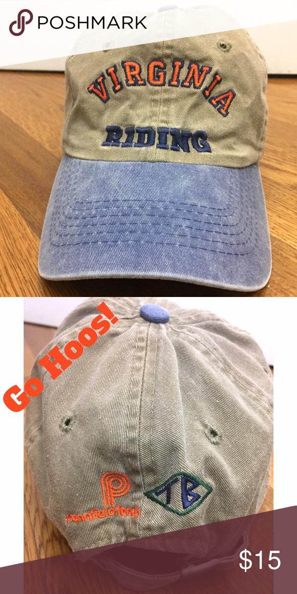 Virginia (UVA) Riding Hat Baseball cap for the UVA riding team. Great hat d8e26c66a6e5