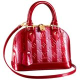 "Alma BB bag in Pomme D'amour for Louis Vuitton ""Cherries on the Cake"" collection"