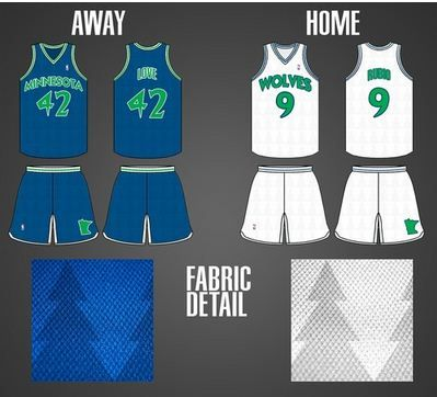 the latest 07edf 2454e Submitted by Hunter Wakely | Timberwolves Fantasy Jersey ...