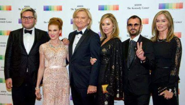 Joe Walsh And Wife His Brother In Law Ringo Starr At 2016 Kennedy Center Honors Artist Dinner