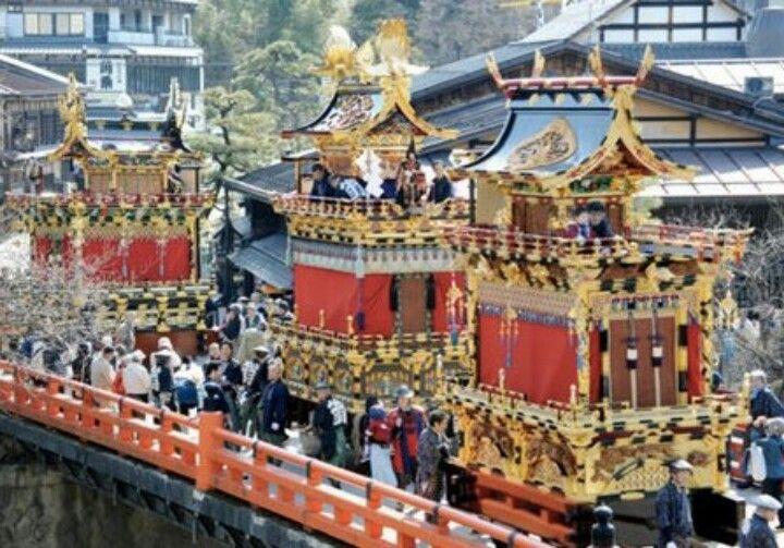 Takayama festival, Japan