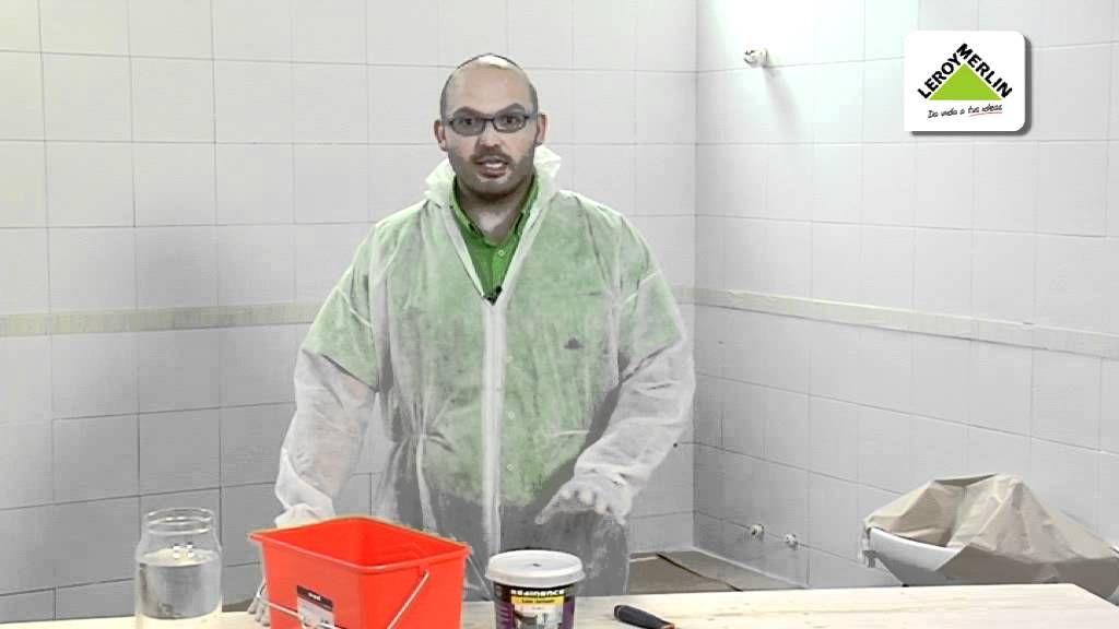 Renovar paredes suelos encimeras y muebles con resina de for Pintura leroy merlin precios