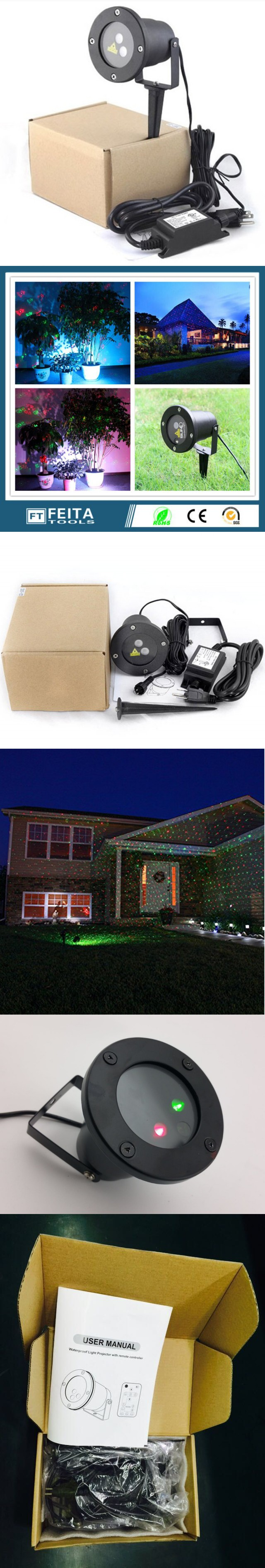 top ip65 waterproof elf christmas lights red green static twinkle outdoor christmas laser lights projector decorations for home