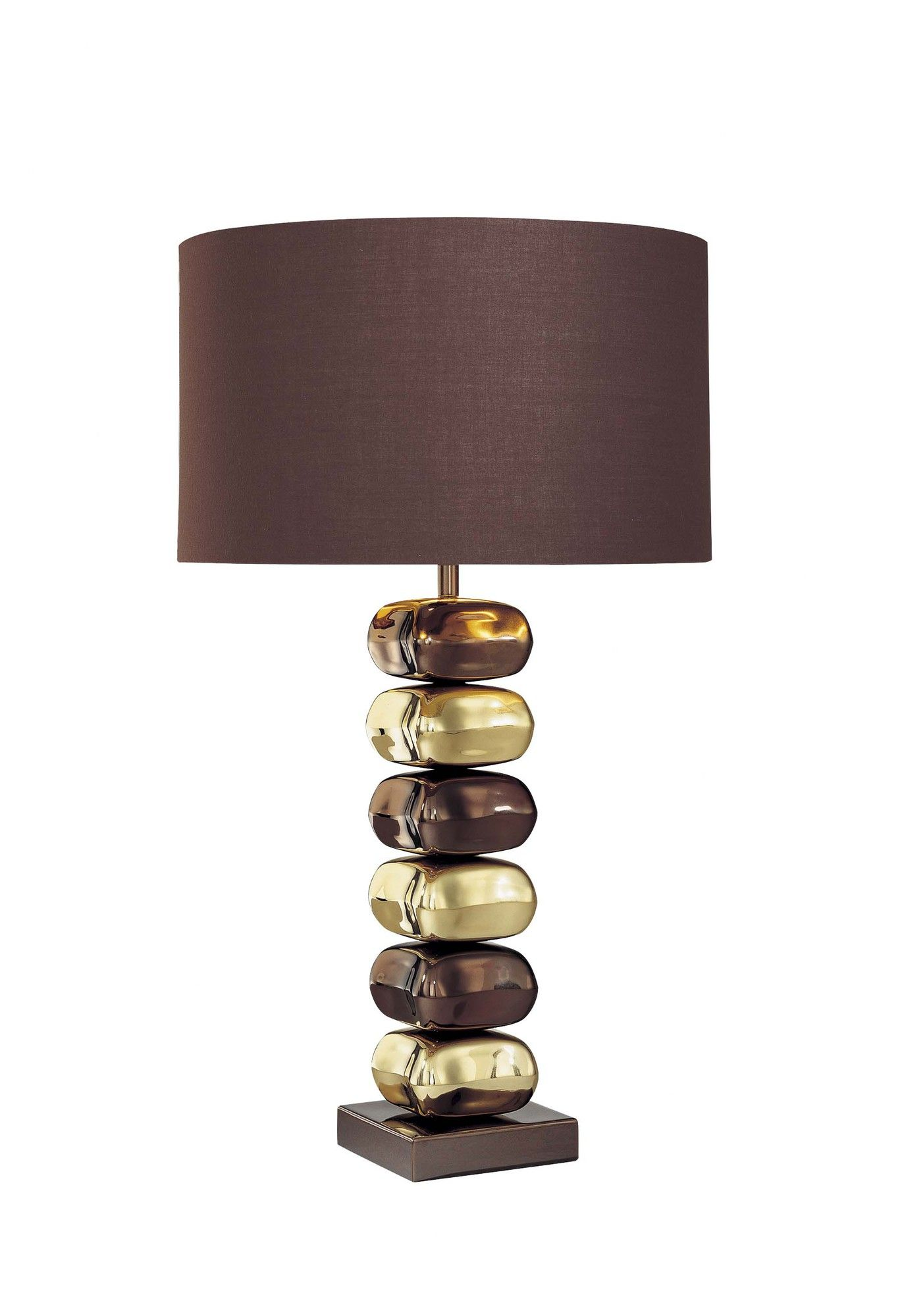 George Kovacs 25 5 H Table Lamp With Drum Shade Lamp Brass Table Lamps Table Lamp