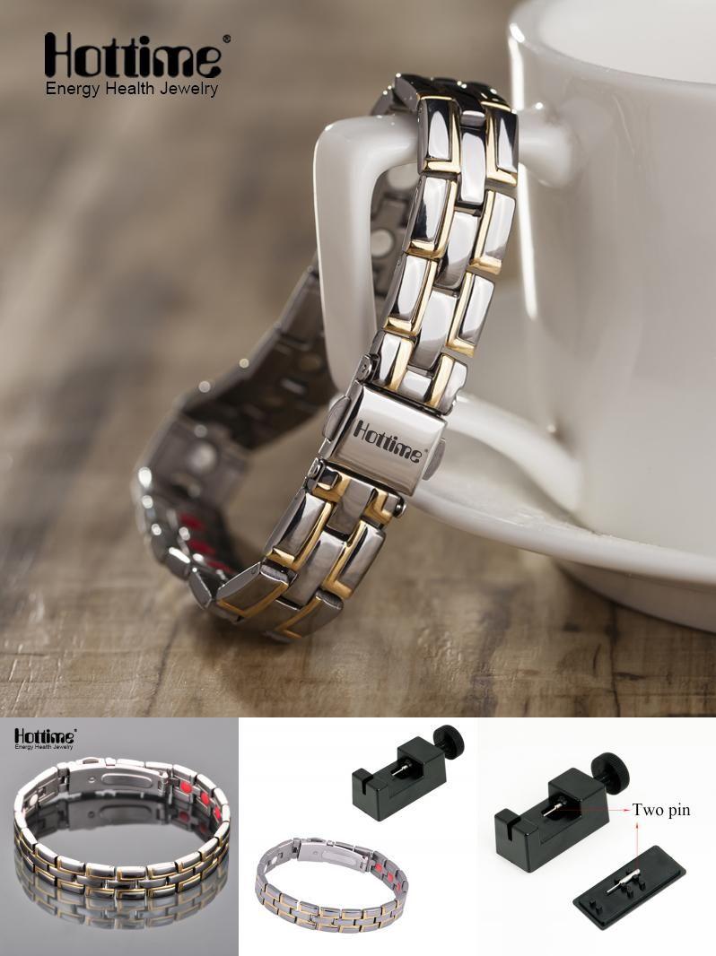 Visit to buy hottime new design titanium luxury bracelet bangle