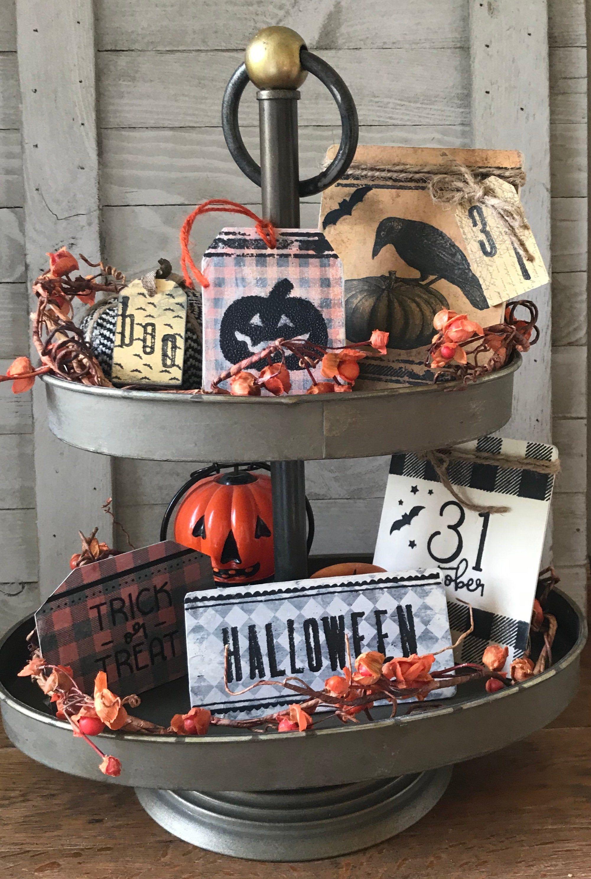 New halo tier list ! Halloween Bundle Tier Tray Decor. Farmhouse Primitive Rustic   Etsy in 2021   Tiered tray decor ...