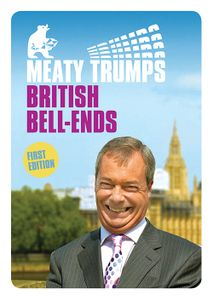 Image of BRITISH BELL-ENDS – Meaty Trumps #003