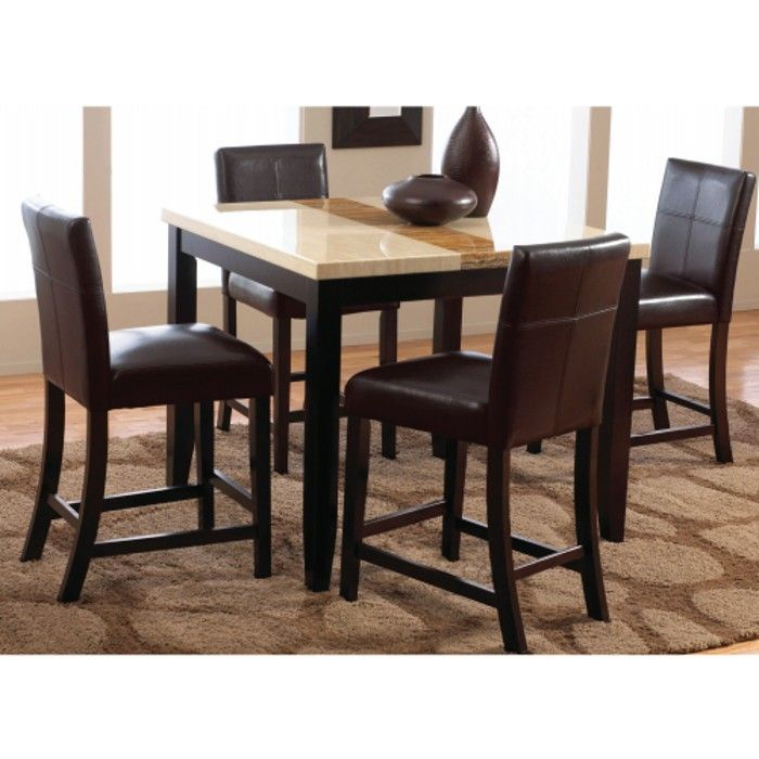 Trinity Dining Counter Height Table Amp 4 Chairs 2722