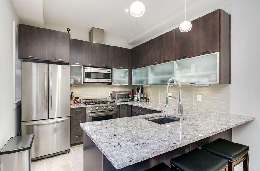 27 Small Kitchens With Dark Cabinets Design Ideas Kitchen