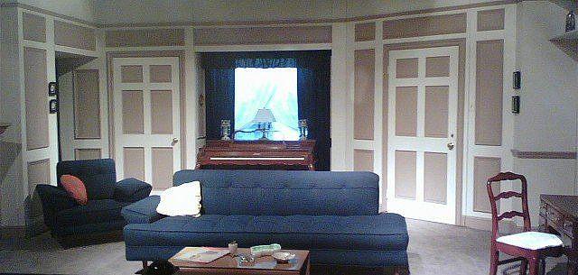 Replica Of The I Love Lucy Living Room Retro Living Rooms Love Lucy I Love Lucy