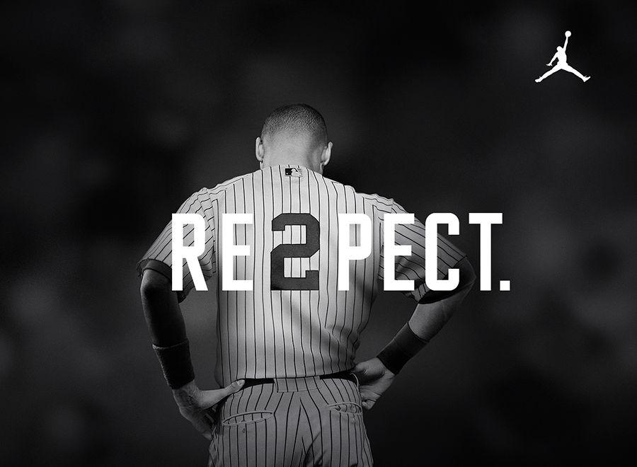 Derek Jeter Re2pect Wallpaper Derek Jeter New York Yankees Nike Ad