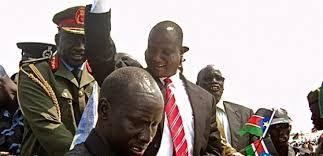 أخطر خبطة صحفيه مع الرجل الثاني في جنوب السودان تعبان دينق