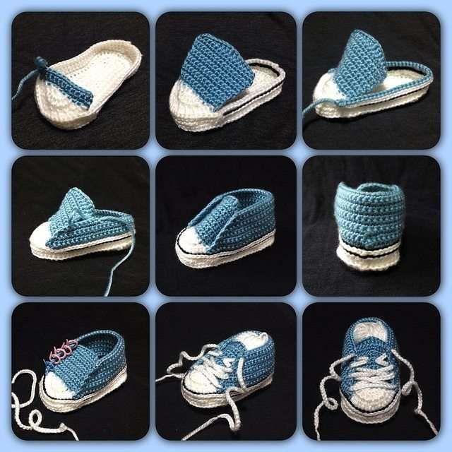 Örgü Bebek Patik Modelleri Ve Yapılışları www.sosyetikcadde (15) #booties
