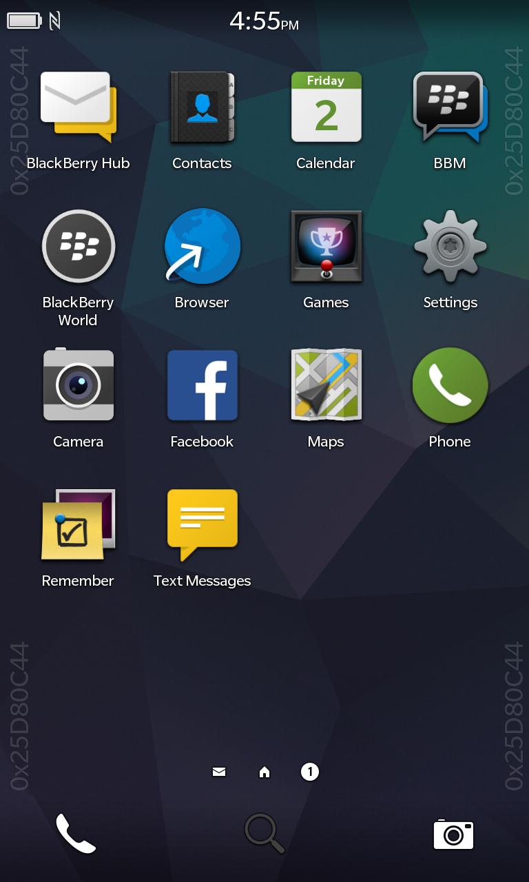 BlackBerry 10.3 New Icon Blackberry
