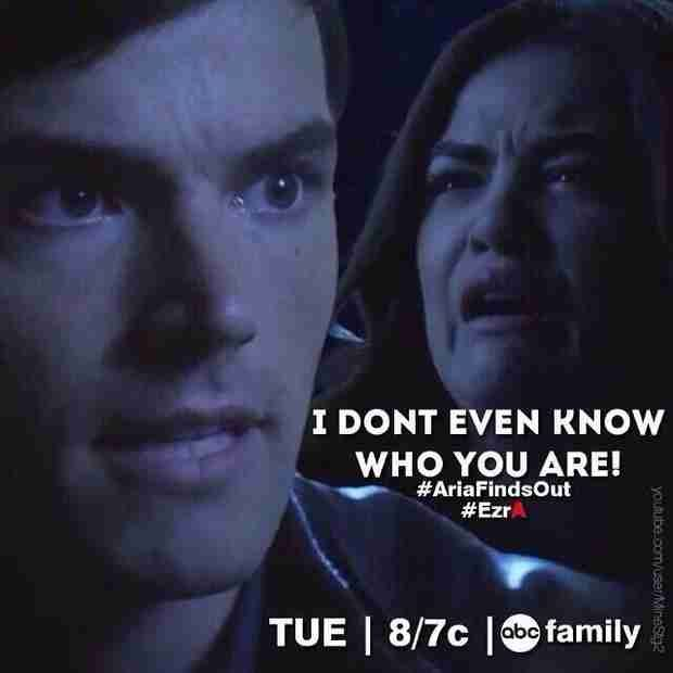 When did Ezra find out about A? : PrettyLittleLiars