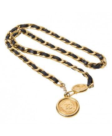fe4ab1950cf Chanel belt necklace. Chanel belt necklace Chain Belts