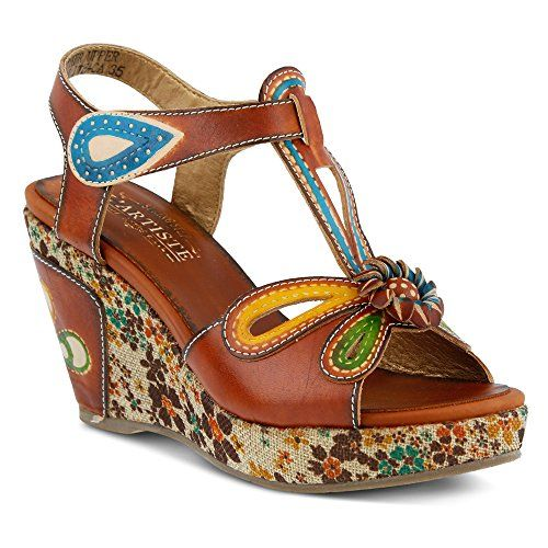 Spring Step Women's Socialite Wedge Sandal Camel 40 Europ... https://