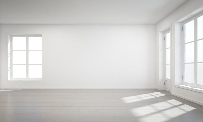 Https Www I Sabuy Com 5 ว ธ ช วยพรางตา ทำห องจ วให ด ใหญ ด วยการเล อกส ท White Room Empty Room Home